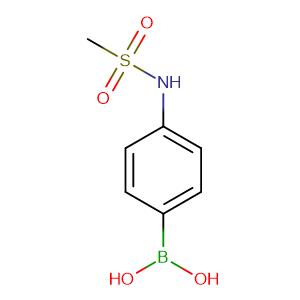 4 - Methanesulfonylaminophenylboronic acid,CAS No. 380430-57-9.
