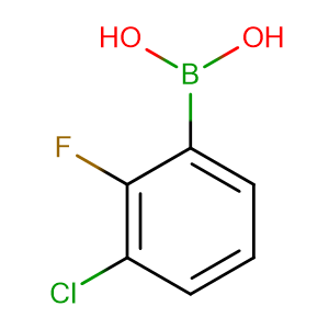 3 - Chloro - 2 - fluorophenylboronic acid,CAS No. 352535-82-1.