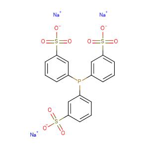 Triphenylphosphine-3,3',3''-trisulfonic acid trisodium salt,CAS No. 63995-70-0.