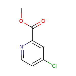 Methyl 4-chloropicolinate,CAS No. 24484-93-3.