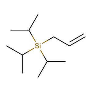 Allyltriisopropylsilane,CAS No. 24400-84-8.