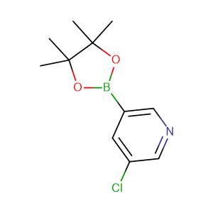 5-Chloropyridine-3-boronic acid pinacol ester,CAS No. 865186-94-3.