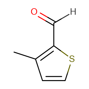 3-Methyl-2-thiophenecarboxaldehyde,CAS No. 5834-16-2.