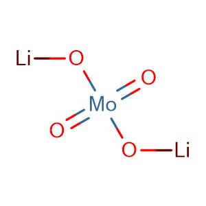 Lithium molybdate(VI),CAS No. 13568-40-6.