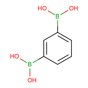 1,3-Benzenediboronic acid,CAS No. 4612-28-6.