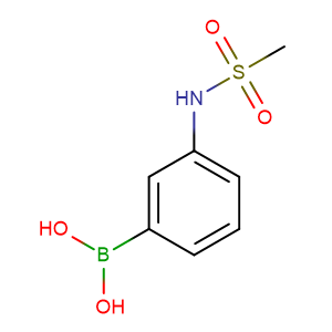 3-(Methylsulfonamido)phenylboronic acid,CAS No. 148355-75-3.