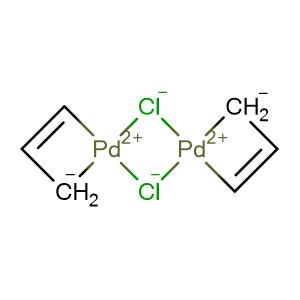 Allylpalladium chloride dimer,CAS No. 12012-95-2.