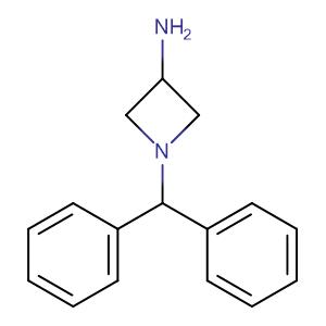 3-Amino-1-diphenylmethylazetidine,CAS No. 40432-52-8.