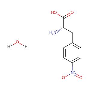 (S)-2-Amino-3-(4-nitrophenyl)propanoic acid hydrate,CAS No. 207591-86-4.