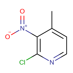 2-Chloro-4-methyl-3-nitropyridine,CAS No. 23056-39-5.
