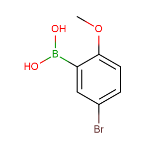 5-Bromo-2-methoxyphenylboronic acid,CAS No. 89694-45-1.