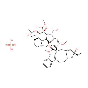 vincristine,CAS No. 2068-78-2.