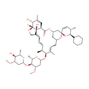Doramectin,CAS No. 117704-25-3.