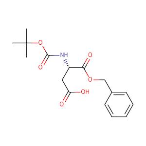 Boc-L-Aspartic acid 1-benzyl ester,CAS No. 30925-18-9.
