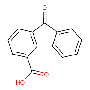 9-Oxo-9H-fluorene-4-carboxylic acid,CAS No. 6223-83-2.