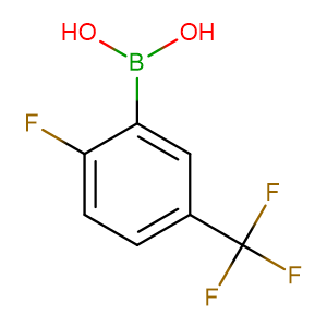 2 - Fluoro - 5 - (trifluoromethyl)phenylboronic acid,CAS No. 352535-96-7.