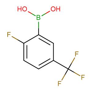 2 - Fluoro - 5 - (trifluoromethyl)phenylboronic acid,CAS No. 352535-96-7.