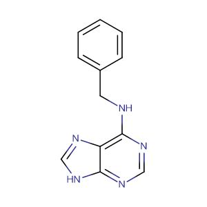 Benzyladenine,CAS No. 1214-39-7.