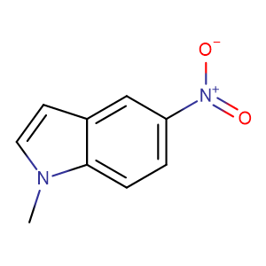1-Methyl-5-nitroindole,CAS No. 29906-67-0.