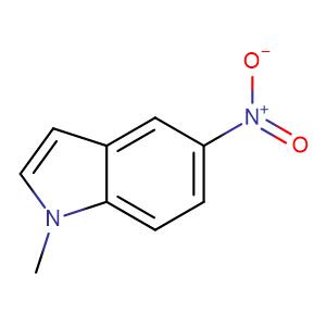 1-Methyl-5-nitroindole,CAS No. 29906-67-0.