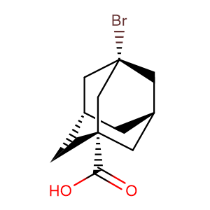 3-Bromoadamantane-1-carboxylic acid,CAS No. 21816-08-0.