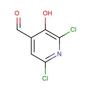 2,6-Dichloro-3-hydroxy-4-pyridinecarboxaldehyde,CAS No. 185423-26-1.
