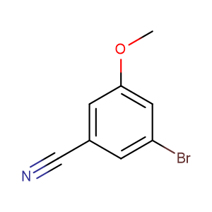 3-bromo-5-methoxy benzotrile,CAS No. 867366-91-4.