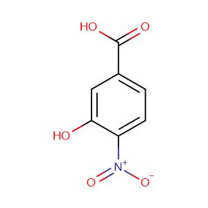 3-Hydroxy-4-nitrobenzoic acid,CAS No. 619-14-7.
