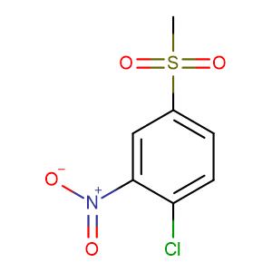 4-Chloro-3-nitrophenyl methyl sulfone,CAS No. 97-07-4.