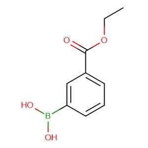 (3-Ethoxycarbonylphenyl)boronic acid,CAS No. 4334-87-6.