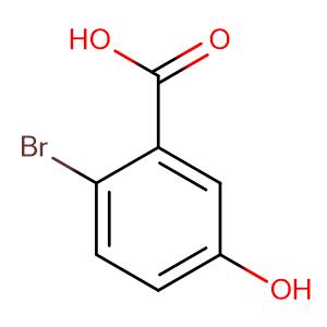 2-Bromo-5-Hydroxybenzoic Acid,CAS No. 58380-11-3.