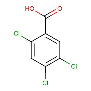 2,4,5-Trichlorobenzoic acid,CAS No. 50-82-8.