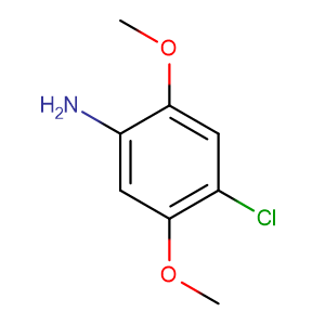 2,5-Dimethoxy-4-chloroaniline,CAS No. 6358-64-1.