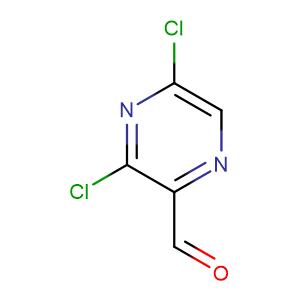 3,5-Dichloropyrazine-2-carbaldehyde,CAS No. 136866-27-8.