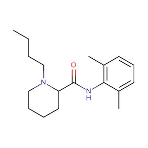 1-Butyl-N-(2,6-dimethylphenyl)piperidine-2-carboxamide,CAS No. 2180-92-9.