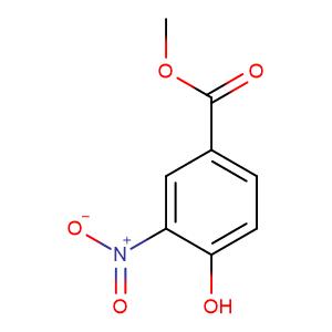 Methyl 4-hydroxy-3-nitrobenzoate,CAS No. 99-42-3.