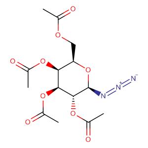 2,3,4,6-Tetra-O-acetyl-b-D-galactopyranosylazide,CAS No. 13992-26-2.
