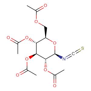 2,3,4,6-Tetra-O-acetyl-beta-D-glucopyranosyl isothiocyanate,CAS No. 14152-97-7.
