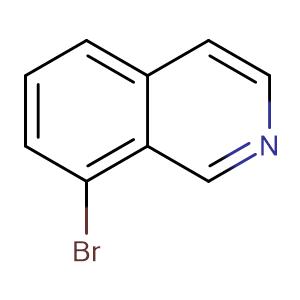 8-bromoisoquinoline,CAS No. 63927-22-0.