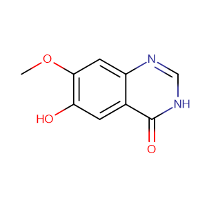 6-Hydroxy-7-methoxyquinazolin-4(1H)-one,CAS No. 179688-52-9.
