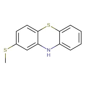 2-Methylthiophenothiazine,CAS No. 7643-08-5.