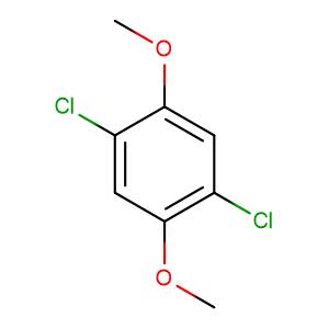 Benzene, 1,4-dichloro-2,5-dimethoxy-,CAS No. 2675-77-6.