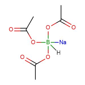 sodium tris(acetoxy)borohydride,CAS No. 56553-60-7.