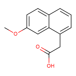 2-(7-Methoxynaphthalen-1-yl)acetic acid,CAS No. 6836-22-2.