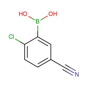 2-Chloro-5-cyanophenylboronic acid,CAS No. 936249-33-1.
