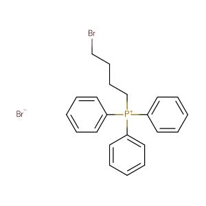 (4-BROMOBUTYL)TRIPHENYLPHOSPHONIUM BROMIDE,CAS No. 7333-63-3.