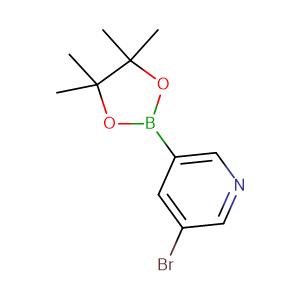 3 - Bromopyridine - 5 - boronic acid pinacol ester,CAS No. 452972-13-3.