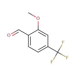2-Methoxy-4-(trifluoromethyl)benzaldehyde,CAS No. 132927-09-4.