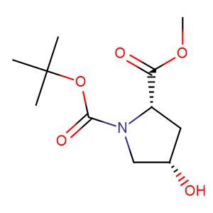 (2S,4S)-1-tert-Butyl 2-methyl 4-hydroxypyrrolidine-1,2-dicarboxylate,CAS No. 102195-79-9.