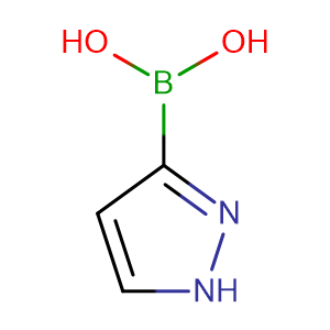 (1H-Pyrazol-3-yl)boronic acid,CAS No. 376584-63-3.